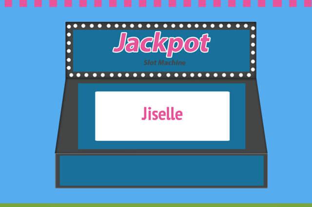 Slot machine name picker