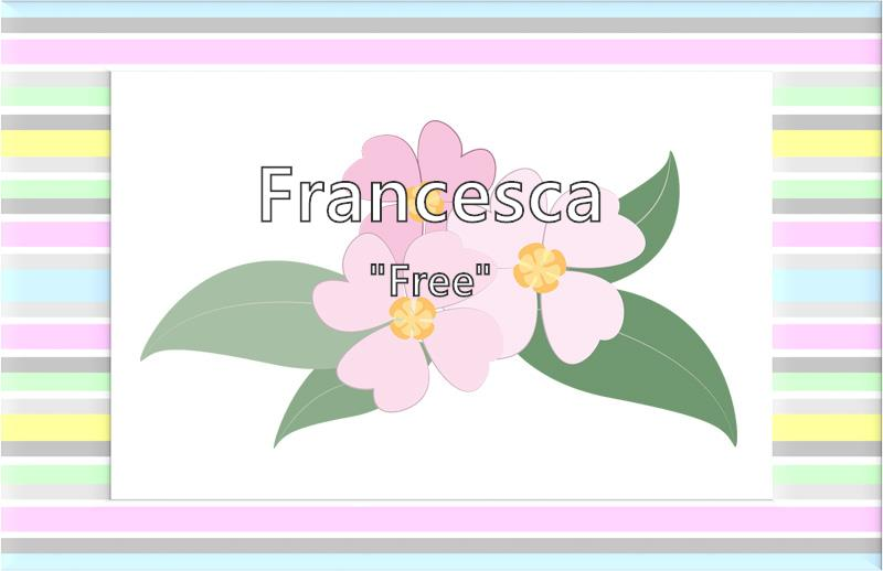 Francesca - What does the girl name Francesca mean? (Name ...